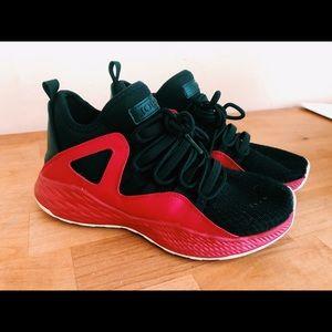 Jordan sneakers - Black and red